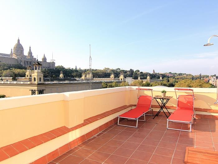 Penthouse Top Views - apartment in Barcelona